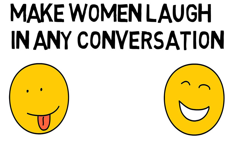 How To Make A Girl Laugh – Simple Technique Works Every Time